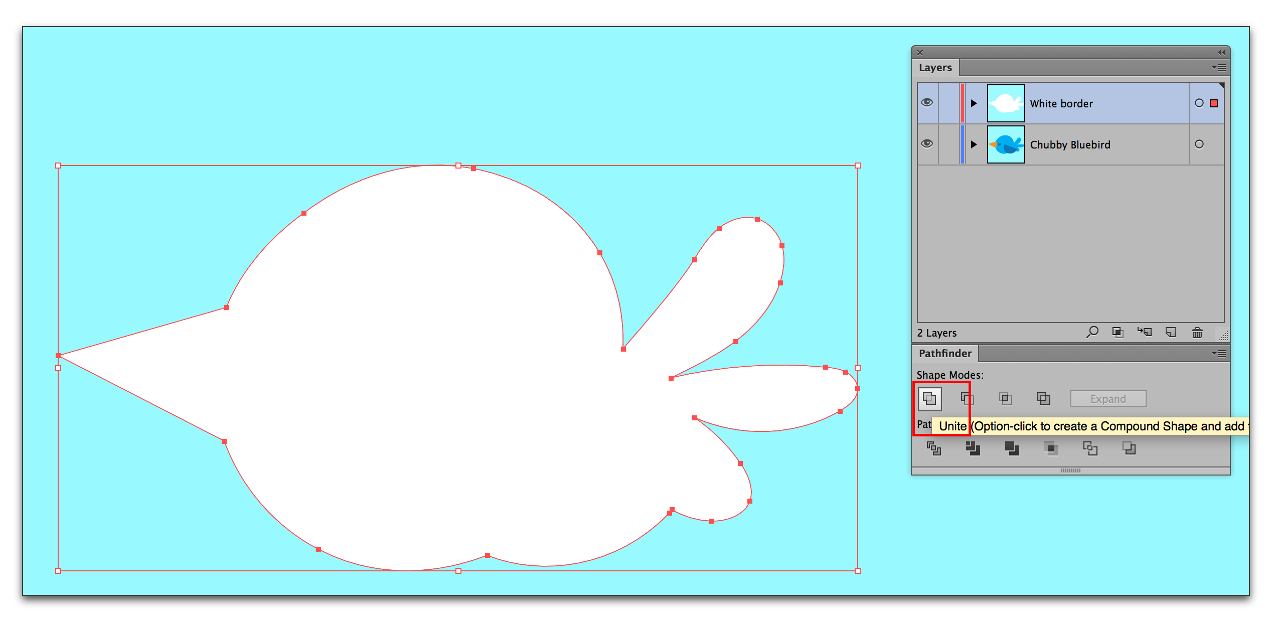Adobe Illustrator CC 2015: Adding a white border for stickers and window clings