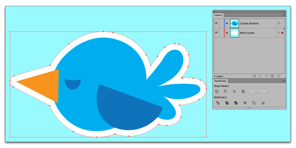 how to create a border around the artboard in illustrator
