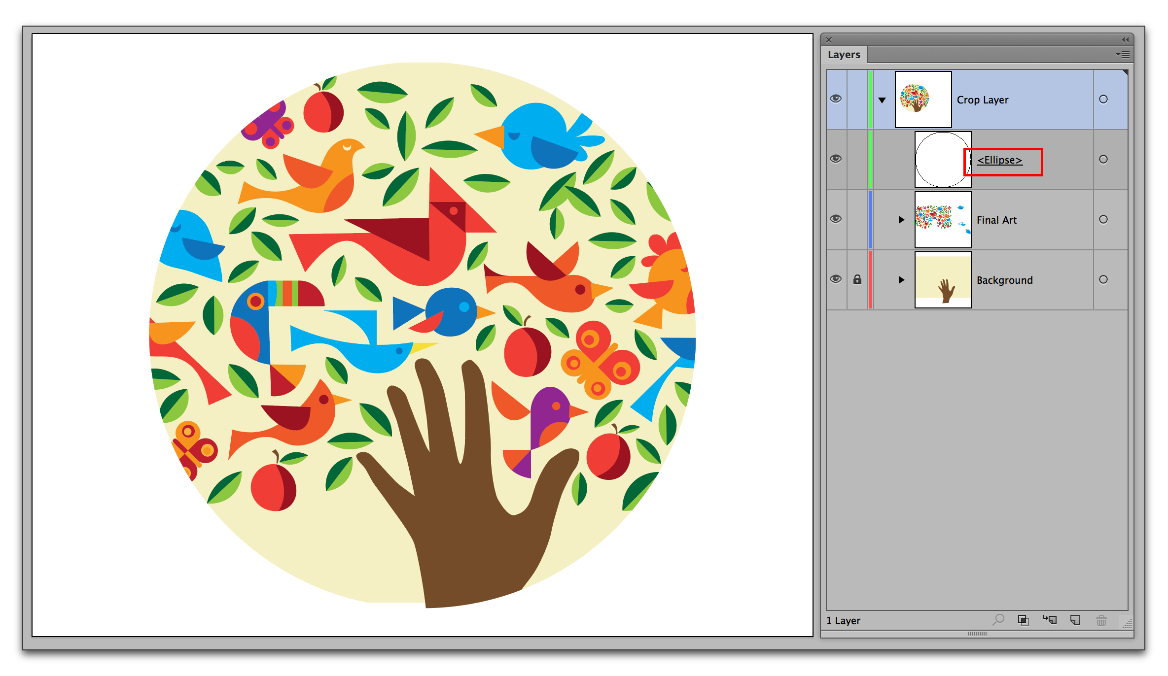 Adobe Illustrator CC 2015: Cropping in Illustrator
