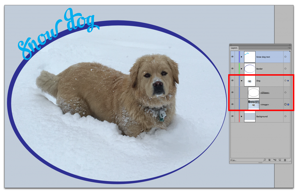 Adobe Illustrator CC 2015: Cropping a photo