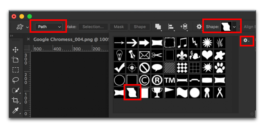 Adobe Photoshop CC 2015: Type in a Shape