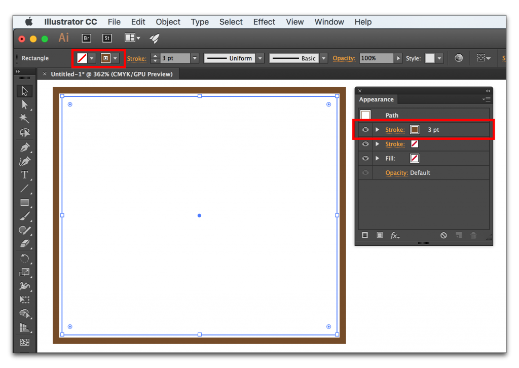 Adobe Illustrator CC 2015: Top-most Fill/Stroke is not active.