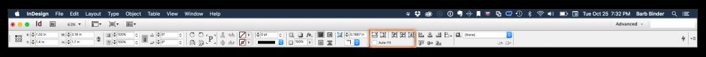 Adobe InDesign CC: Control Panel