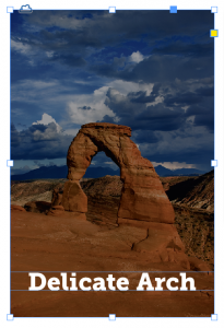 Adobe InDesign CC: Add a black overlay to an image