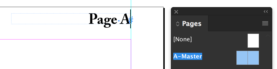 Adobe InDesign CC: Last page number variable